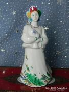 Lomonosov porcelán szobor Katyusa