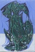 Xantus Gyula : Zöld sárkányasszony
