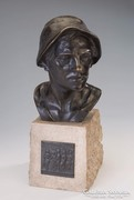 Meunier Constantin Emile: Kohász bronz szobor