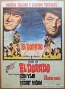 Régi filmplakát - El Dorado