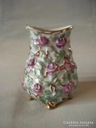 Antik Zsolnay vázácska