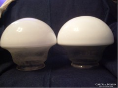 Art decó lámpa búrák egyedi készítésűek 26 cm-es