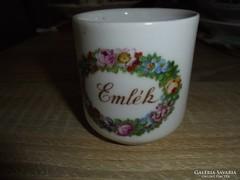 Zsolnay porcelán emlék csésze