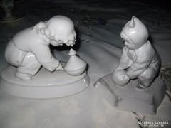 Zsolnay , Sinkó figurák