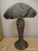 Muránói üveg asztali lámpa, 45 cm magas!