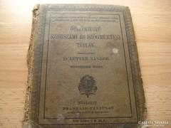 Dr Lutter N. :öt számjegyű ................1912