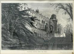 0L861 Edward Whymper : Warwick kastély metszet