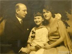 0L866 Jelzett művészi családi fotográfia 1931