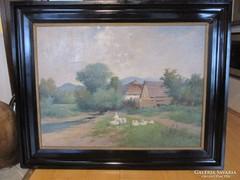 Zórkóczy Gyula (1873-1932 ) festmény