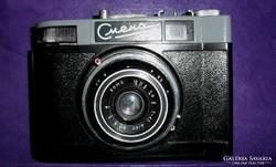 Smena 8 fényképezőgép Lomo T-43-as objektívvel.