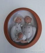 Családi kép gyerekkel,falikép