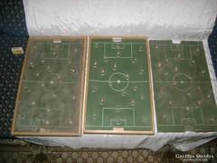 Rugós foci játék - három darab