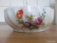 Régi Zsolnai porcelán tál
