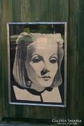 Greta Garbo - vegyestechnika