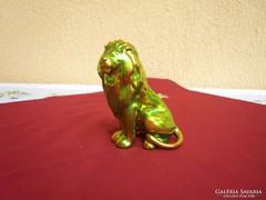 Zsolnay eozin oroszlán