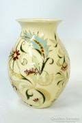 Gyönyörű szép hasas  Zsolnay váza