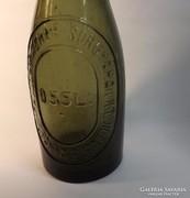 Antik sörös üveg Kőbánya -Budafok ritka!!!!!!!