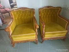 Neobarokk fotel eladó