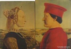 0M133 Piero della Francesca : Antik portré pár