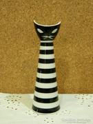 Zsolnay art deco macska váza.