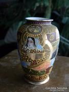 Satsuma - japán - jelzett váza