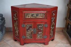 Rendkívüli ár! Kínai tradicionális sarokkomód, komód