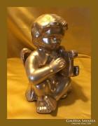 Lantozó angyalka...arany...15cm