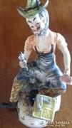 Capodimonte szobor kovács mester