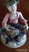 Capodimonte szobor cipész mester
