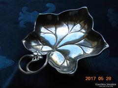 WMF Szecessziós patinás bonbonier 3 gömb lábon-16x13x3 cm