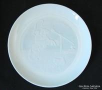 Alföldi csikós átvilágitós herendi tányér