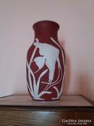 Extra szép Rosenthal váza 32cm magas kifogástalan
