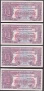 1948. Anglia, 1 Pound (4 db)