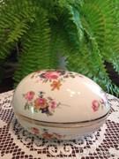 Csodálatos  angol  porcelántojás  bonbonier