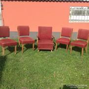 Retro székek+ fotel