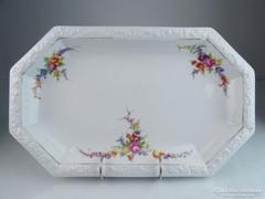 0M435 Régi Rosenthal porcelán pecsenyés tál 37 cm