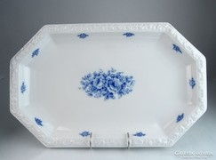 0M437 Régi Rosenthal porcelán pecsenyés tál 46 cm
