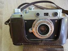 Zorkij orosz fényképezőgép eredeti tokban