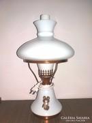 Retro CCCP 1980 Olimpia asztali elektromos petróleum lámpa