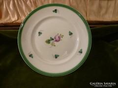 Bécsi rózsás herendi sütis tányér
