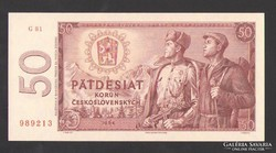 50 korona 1964. TÖKÉLETES UNC!!  RITKA!!