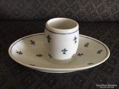 Régi Altwien porcelán - szószos, mustáros, 1858.