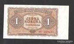 1 korona 1953. TÖKÉLETES UNC!!