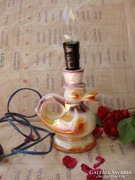 Retro kacsa alakú porcelán lámpa,gyereklámpa.