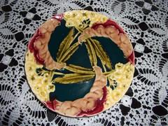 Znaim Majolika süteményes tányér (04)