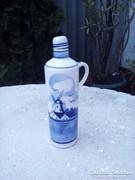 Porcelán kancsó,- holland kézzel festett