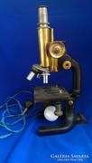 C. Reichert Wien Antik mikroszkóp