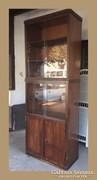 Praktikus,magas vitrin vagy könyves szekrény
