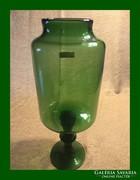 Nagy méretű üveg tároló vagy kínáló