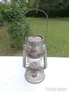 Régi Antik petróleumlámpa feuerhand sturmkappe